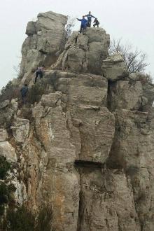 穿越费县塔山-玉皇顶登山活动