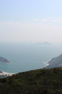 赏HK维港风光、走龙脊、香港港岛径7-8段休闲、徒步
