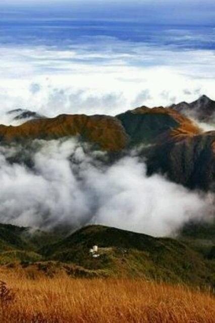 2015年5月16日-17日两天萍乡武功山穿越,看万亩高山草原