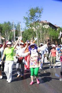 吉林省第五届徒步节(松原站)