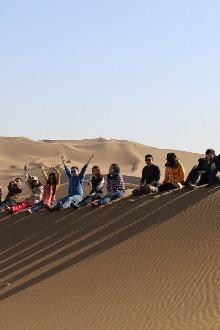 3月7号:邀请你度过浪漫情人金色沙漠库姆塔格沙漠