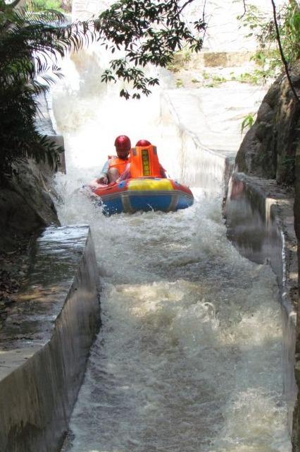 5月22日惠州平安山激情漂流