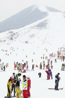 12月13日10点济南潮人会群友金沙湾滑雪大冒险!