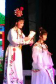 象山越剧演员戏迷总群第五届大型越剧晚会