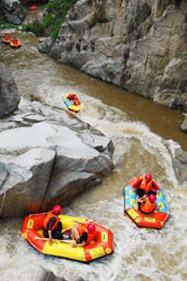毕升大峡谷漂流一日游