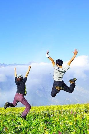 5.14 天国的花园 云端的风景-九顶山2日游
