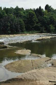 徒步西河,赏延河美景