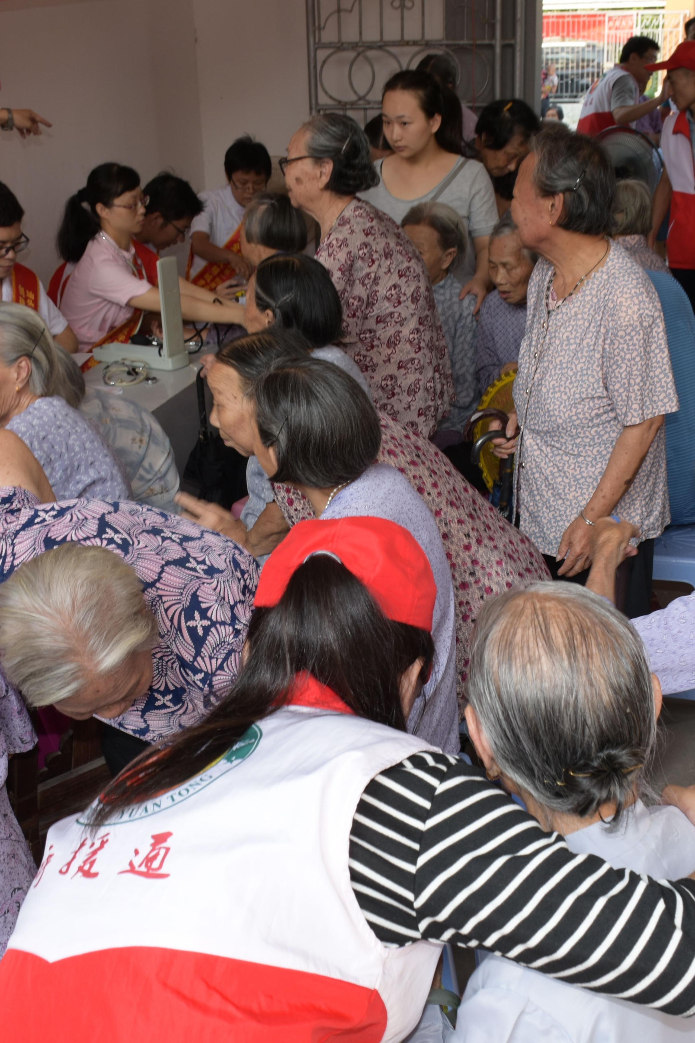 周六公益助老活动
