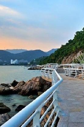 10月3日漫步盐田海滨栈道,行摄海岸风光,休闲听海