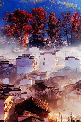 11月14-15号婺源 十里红枫古道—-梦幻徒步