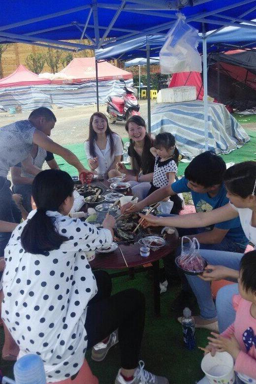 游蓬莱仙界,品农家烧烤,亲摘野菜、采蘑菇