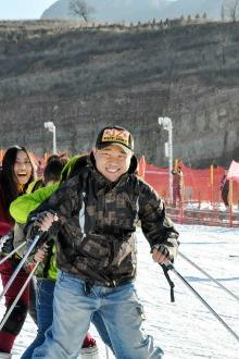 2015.2.7五指山滑雪