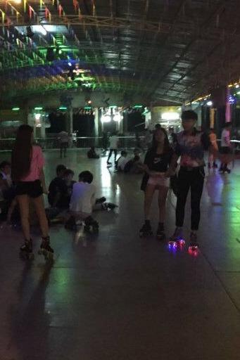汕头金砂公园溜冰!几十人场!本周六晚7点半