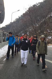 3月6日星期天休闲遛山活动