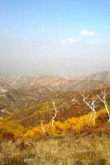 木星户外9月24日马鞍山看彩林一日休闲行摄游