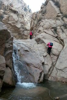 西沟景区穿沟赏冰瀑一日活动