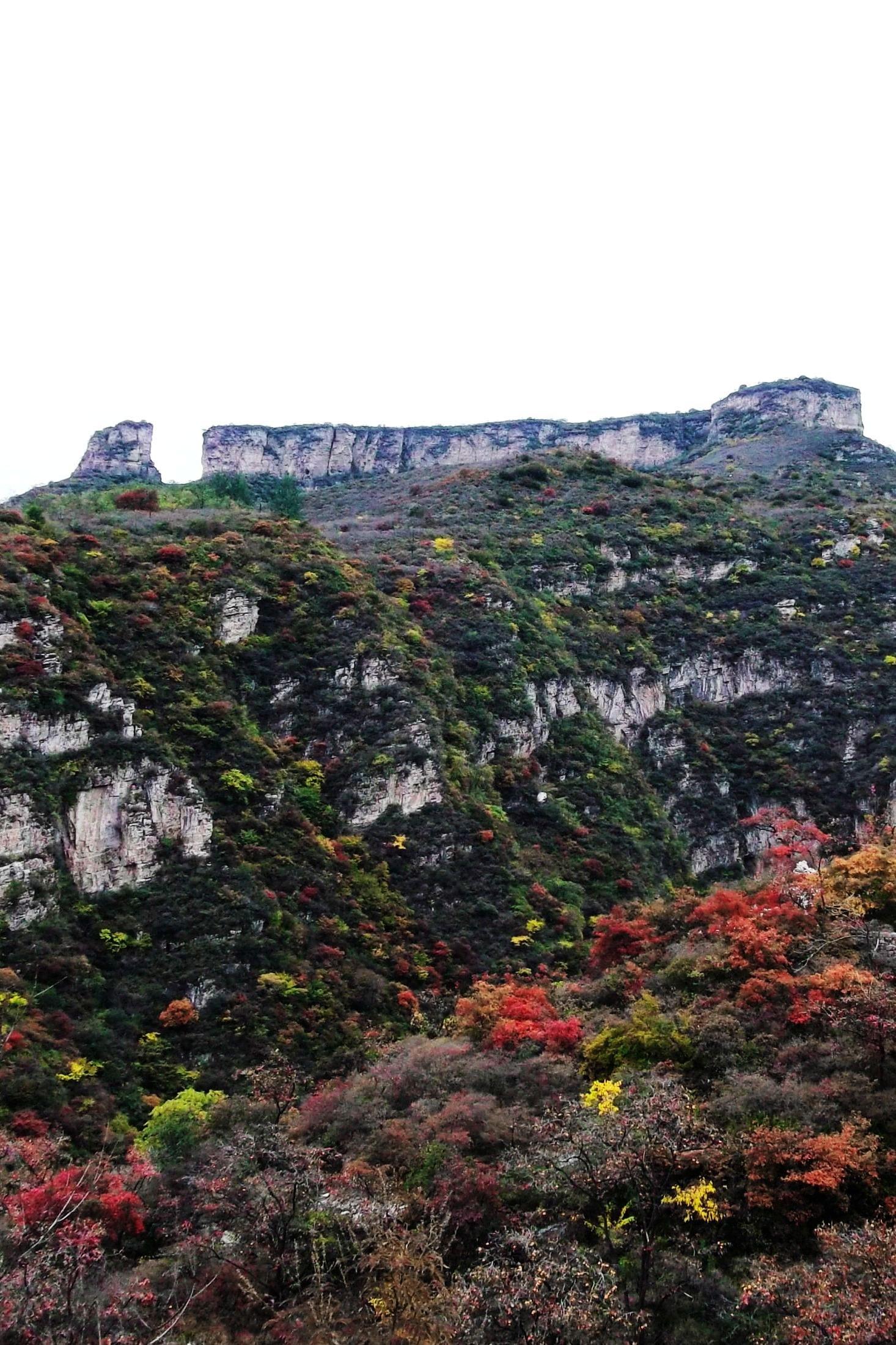 【诺一户外】9.10坡峰岭-棺材山-圣水峪一日穿越