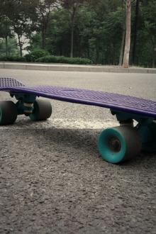 6月28日  滑板刷街