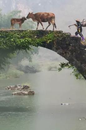 """英西峰林""""小桂林""""休闲 徒步 摄影"""