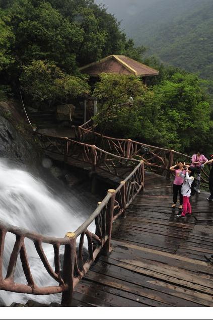 增城绿道踩单车+天南第一梯白水寨瀑布一天生态之旅