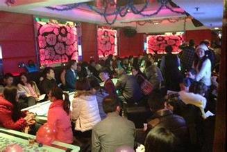 宁波城隍庙蓝色沸点大型交友聚会