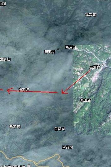 野徒山路林荫道——都江堰三溪村徒步穿越到泰安