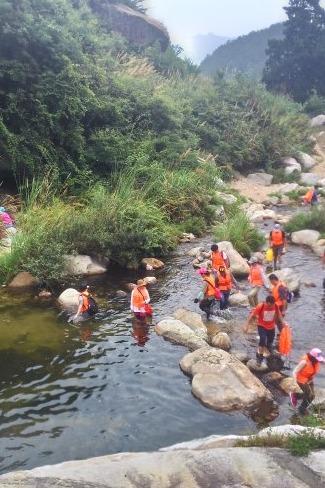 8.15-武汉周边最刺激的玩水峡谷-龙潭冲一日游