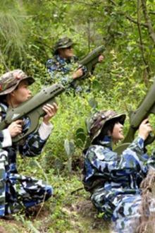 3.15日真人CS火热召集中-穿上迷彩拿起枪,保家卫国上战场