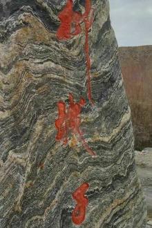 第六十六季柳城子沟徒步捡石头活动