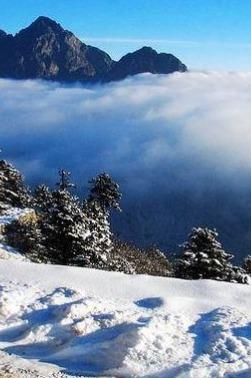逃离雾霾——九峰山玩雪洗肺徒步一日游