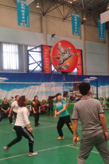 气排球活动