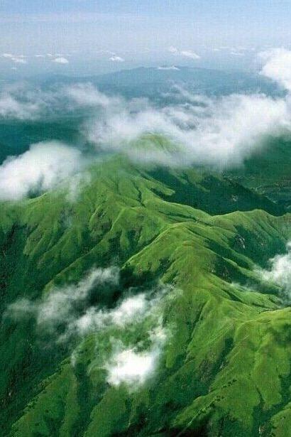 9月相约武功山感受2000米海拔看日出,云海,露营。