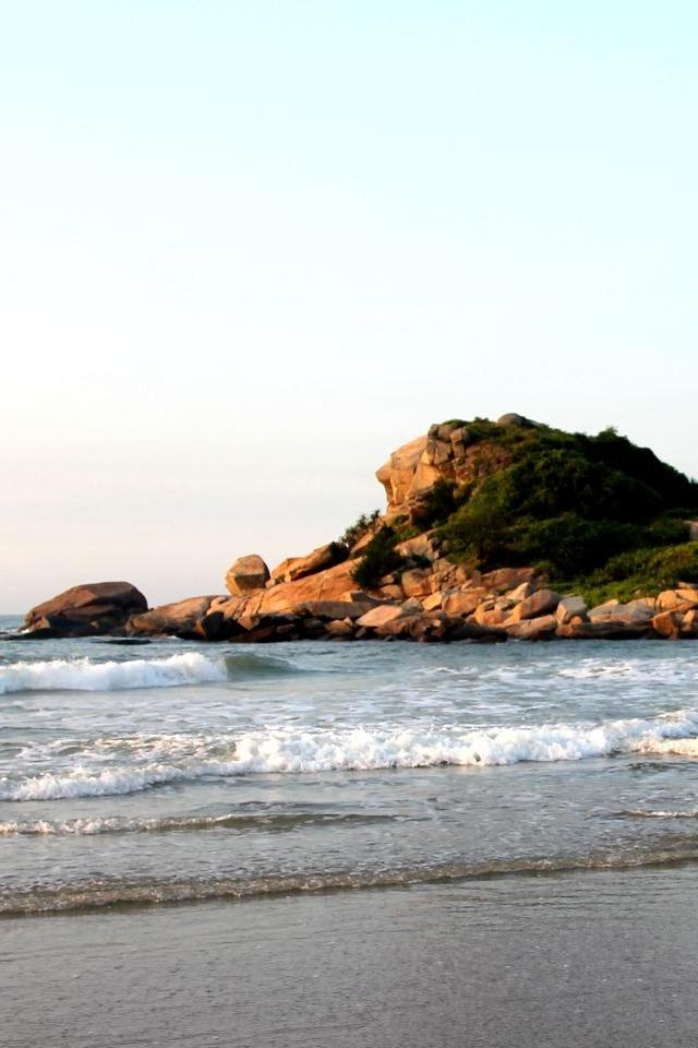 4.16惠州狮子岛海岸线穿越听海浪的声音