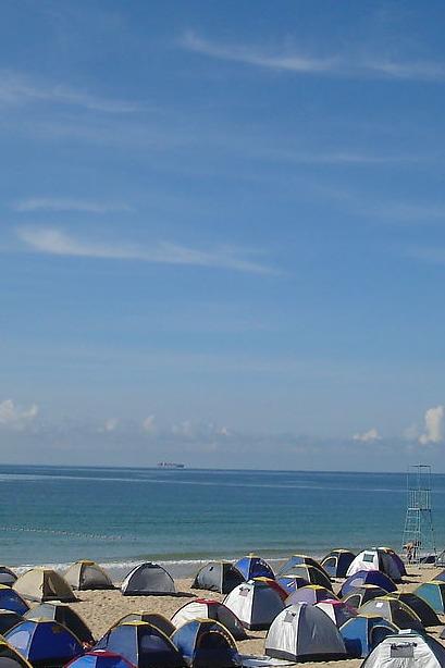 杨梅坑海岸边