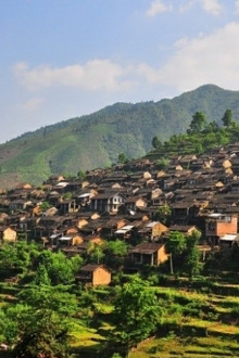 清明节:英西峰林徒步,千年瑶寨篝火晚会温泉