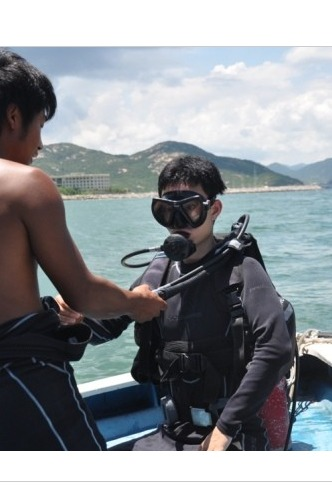9月3日 与你相约杨梅坑潜水出海船潜 探索神奇海洋世界