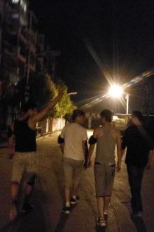 周六晚八点锦绣康城相约慢跑第8次活动