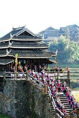 6月17-19日柳州三江程阳风雨桥2天2晚298元