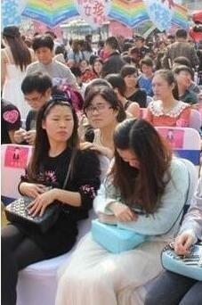 在九江为女生准备的相亲会