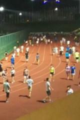 龙岗大运中心跑步:每周三晚例行活动