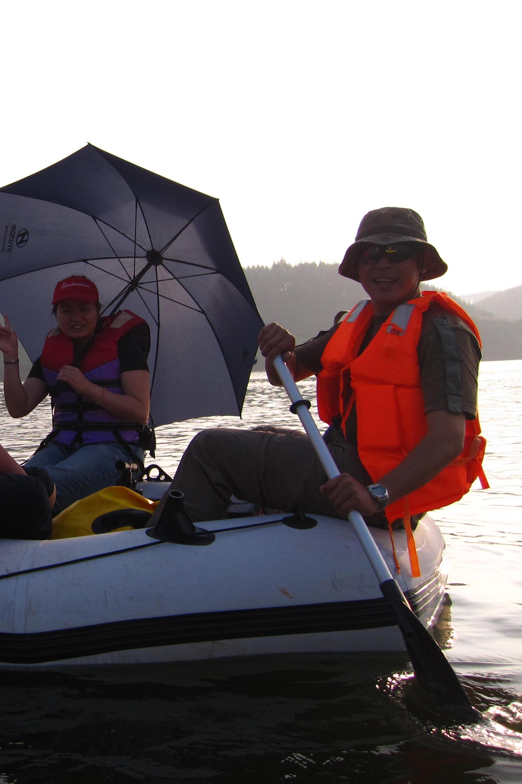 大王滩休闲皮划艇免费培训