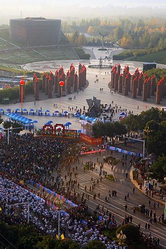 11月8号西昌国际马拉松比赛