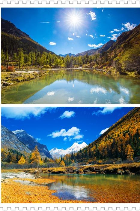 【玛嘉沟两日游】四川最美的雪山红叶川西秘境之旅