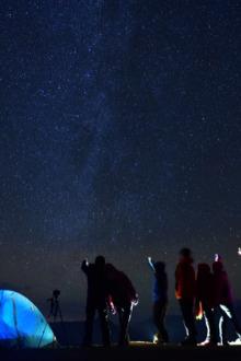 醉美中秋 北京海坨山 徒步露营
