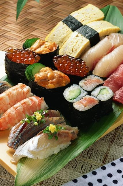 DIY寿司派对