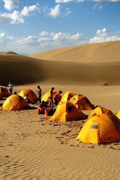 """4月4、5、6日轻装体验徒步腾里沙漠穿越""""天鹅湖"""""""