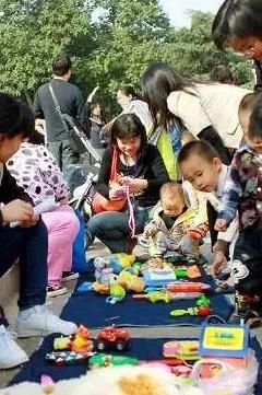 【仁道会小天使团】儿童置物小市场活动