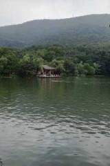 炎炎夏日,紫霞湖游泳