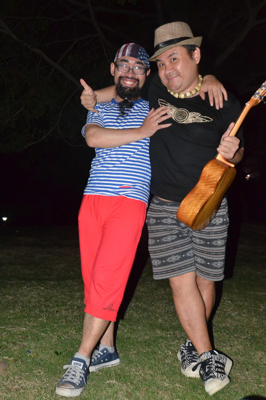 南宁共同尤克里里俱乐部户外野餐弹唱会