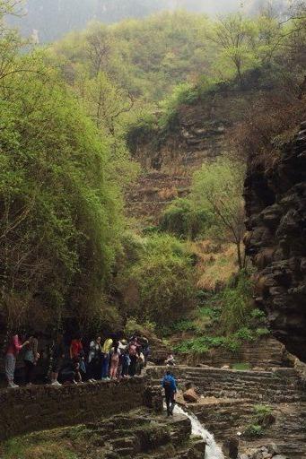 5月16日林州高家台黑龙潭一日穿越交友出行接触大自然